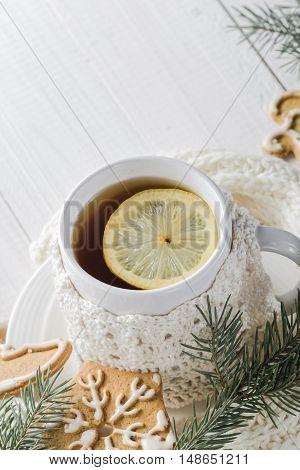 Festive Evening Tea Lemon Sweet Gingerbreads
