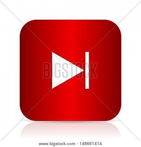 next red square modern design icon