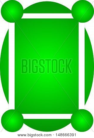 Abstract frame suitable as a background for text or photo