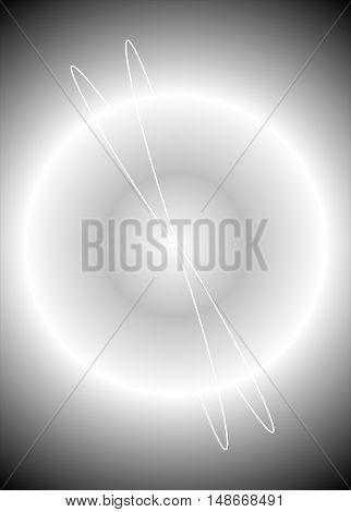 gray abstract background suitable as a container or background