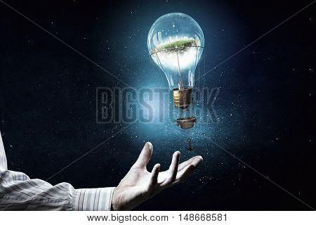 Alternative energy use . Mixed media