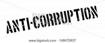 Anti-corruption Rubber Stamp