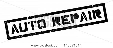 Auto Repair Rubber Stamp