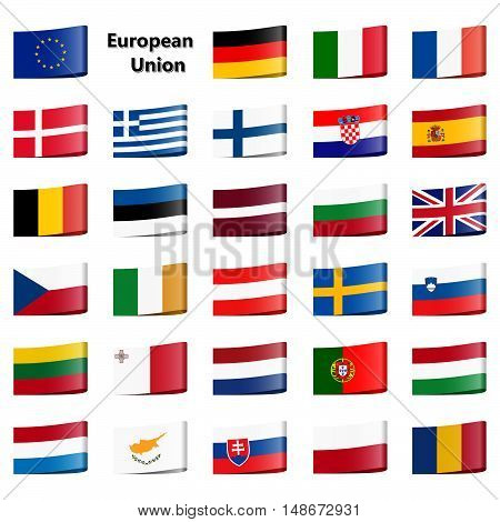 Collection Flags European Union