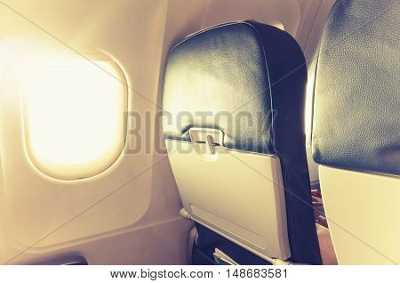 Jet Plane Interior Fragment, Tonal Correction
