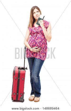 Woman Traveling During Pregnancy