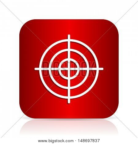 target red square modern design icon