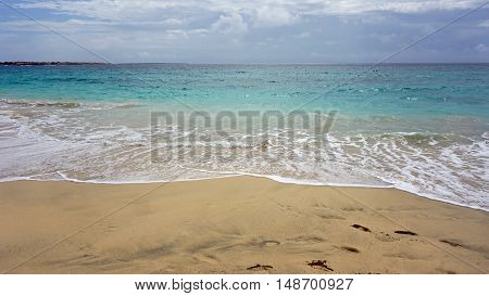 Tropical Beach In Africa