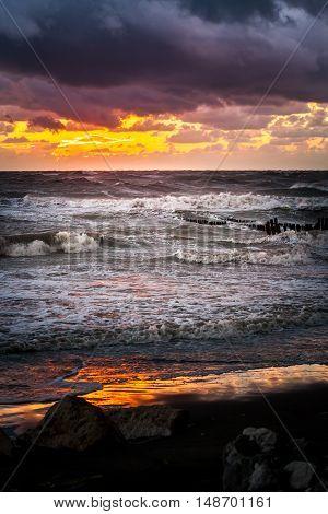 Sunset. Beautiful sunset Black sea. Gold sea sunset. Picture Sea sunset. Sea sunset background. Amazing sea sunset Sunset sea picture. Sunset sea waves. Summer sunset.