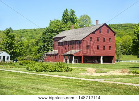 Communal dwelling house in the Shaker Village, western Massachusetts