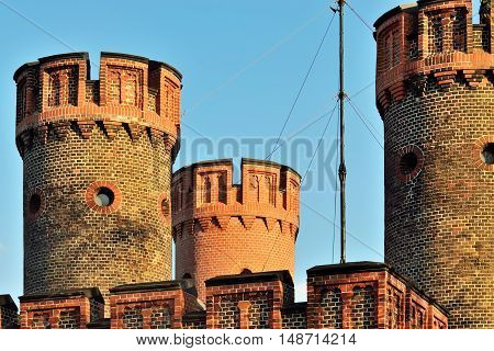 Friedrichsburg Gate - old German Fort in Konigsberg. Kaliningrad until 1946 Koenigsberg Russia
