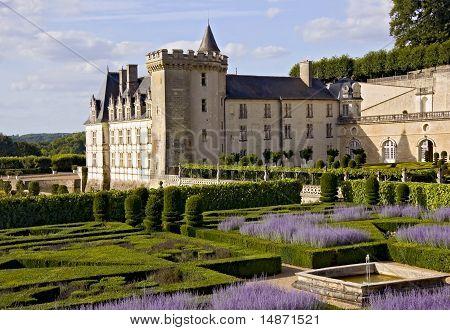 Valencay Castle, Park And Fountain