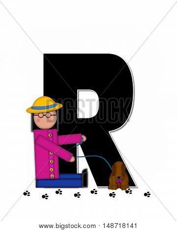 Alphabet Children My Pets R