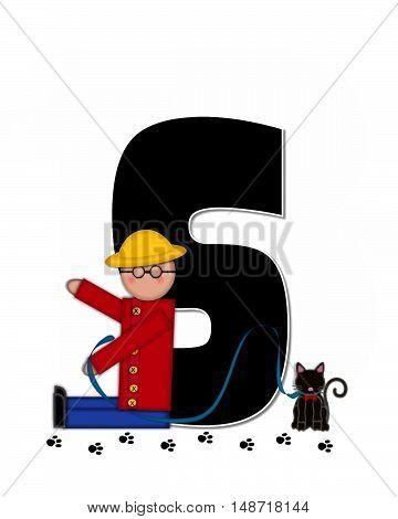 Alphabet Children My Pets S