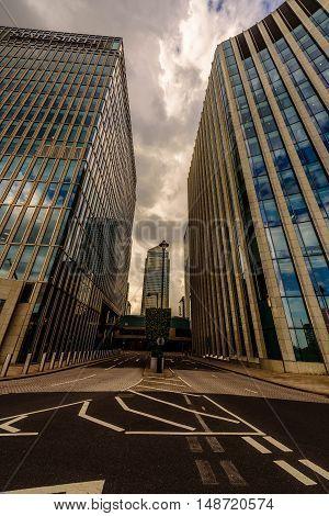 Canary Wharf, Financial district, London, United Kingdom