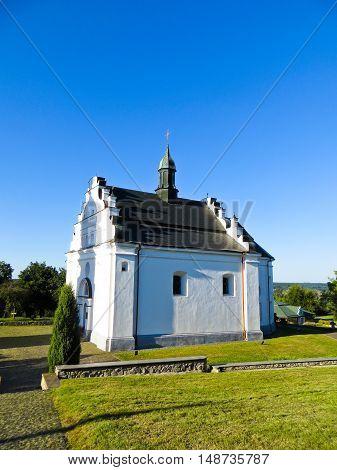 St. Elias Church in Subotiv village Ukraine (Khmelnitsky burial vault)