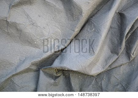 close up old crease textile texture background