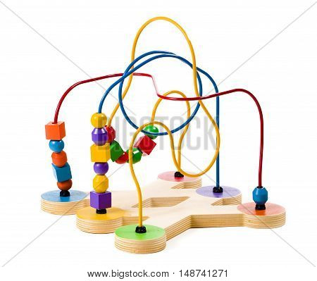 Children's Toy isolated on a White Background