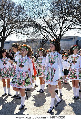 Parada do dia de São Patrício em Washington,