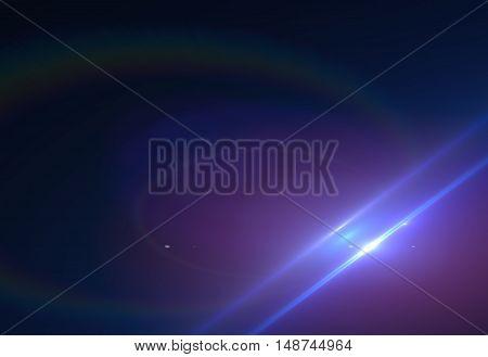 Abstract modern laser streak light on black background (super high resolution)