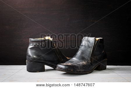dirty shoes from Strong Hard Working Women