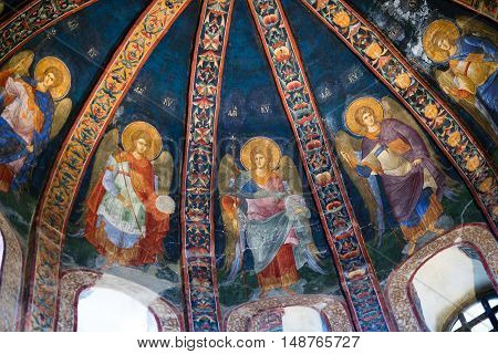 Church Of The Holy Saviour In Chora In Istanbul,turkey
