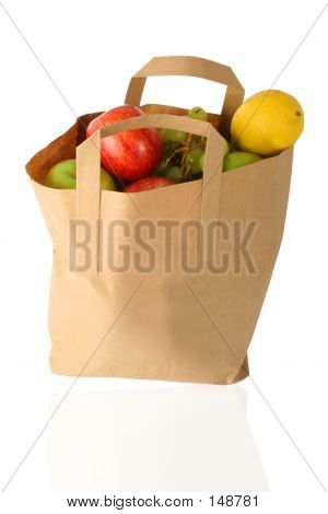 Shopping Bag - Fruits