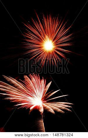 light of firework 4th of July 1999 Fairground at Gaithersburg USA