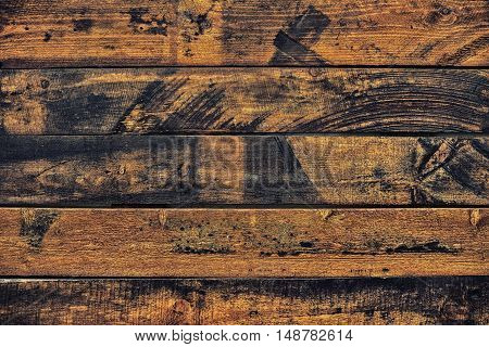 Wood texture background. Brown wooden table texture