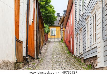 Street View Perspective Of Porvoo, Finland
