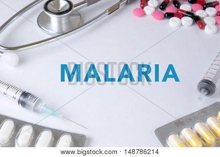 Malaria  Concept Medical