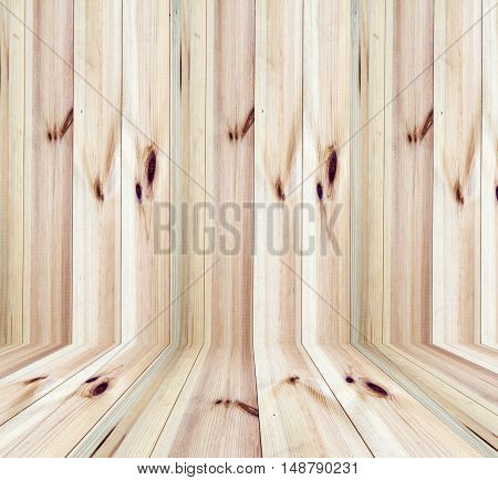 wooden panel wall and floor interior room background