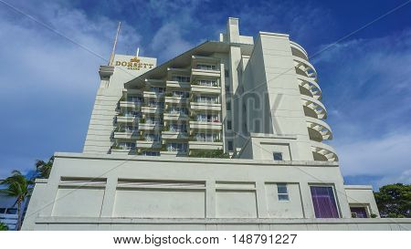 Labuan,Malaysia-Sept 23,2016:Dorsett Grand Labuan is a premier hotel in Labuan Island.Dorsett Grand Labuan is the only five star international chain hotel on the island.
