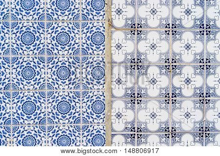 Azulejo is a form of Spanish and Portuguese painted tin-glazed ceramic tilework
