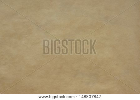 Paper Texture. Background parchment paper blank brown