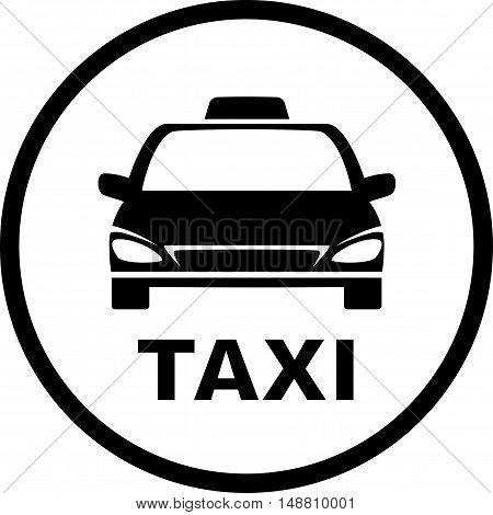 Black Taxi Car