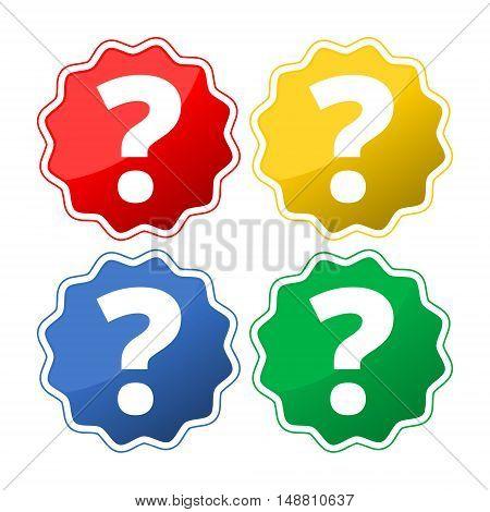 Question mark sign icon. Help symbol. FAQ sign