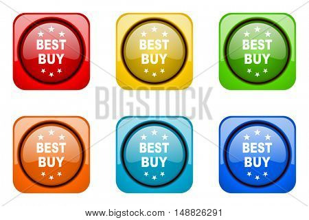 best buy colorful web icons