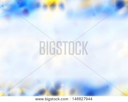 Blue, white, yellow, purple abstract background - ppt template.