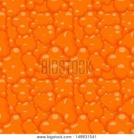 Orange or tangerine peel seamless pattern vector background