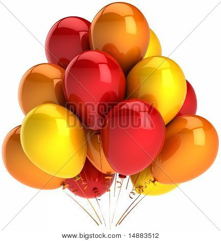 Party balloons decoration hot