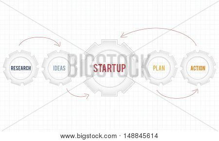 New Business Strategy Target Concept