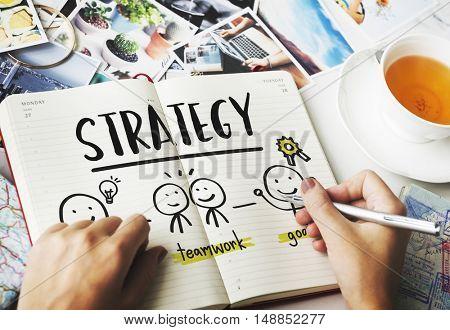 Plan Process Success Progress People Concept