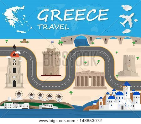 poster of greece travel Icon. travel Icon Vector. travel Icon Art. travel Icon eps. travel Icon Image. travel Icon city. travel Icon Sign. travel Icon Flat. travel Icon design. travel icon app. travel icon UI