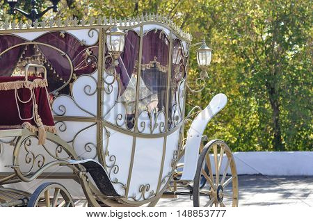 Wedding Carriage For Bride And Groom