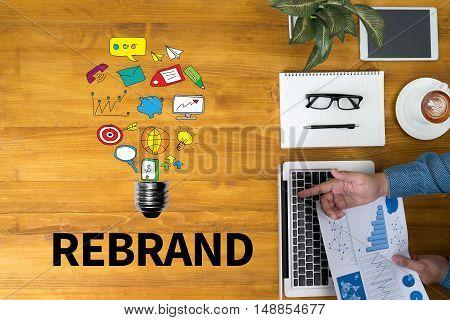 Rebrand Change Identity Branding