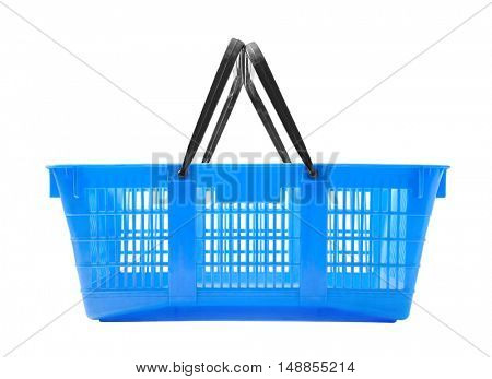Shopping basket isolated on white background