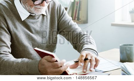 Writer Official Person Letter Document Paperwork Concept