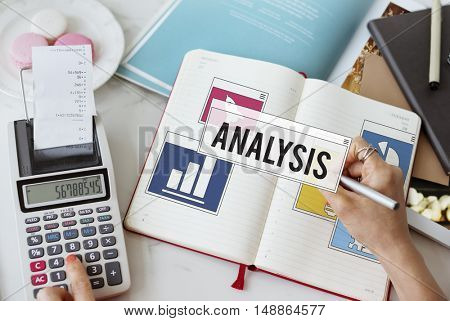 Business Working Analysis Planning Concept