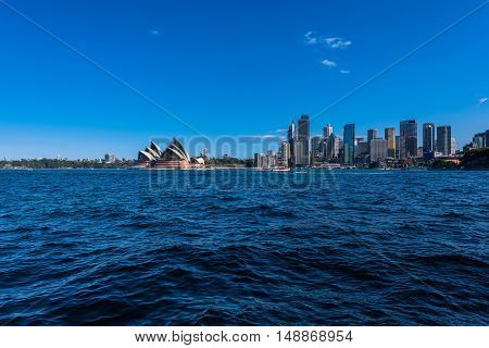 Sydney Opera House and Circular Quay NSW Australia. Sep 26,2016 Sydney Opera House is one of the modern building. Designed by Danish architect Jorn Utzon.